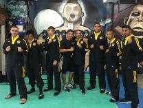 Istvan with a team of Boxers from New Zealand