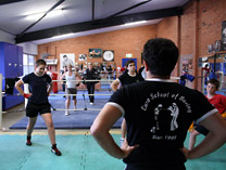 Classes with coach Istvan Solyom Euro School of Boxing