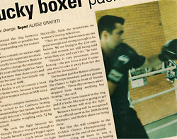 Eastern Suburbs Euro School of Boxing in the media